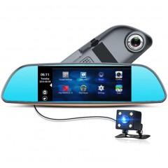 "Видеорегистратор зеркало 7"" XPX ZX858 (Android / GPS / парктроник)"