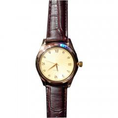 Мужские кварцевые часы с USB зажигалкой