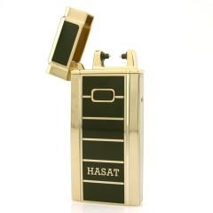 Стильная элитная электродуговая USB зажигалка HASAT