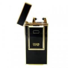 Электроимпульсная аккумуляторная USB зажигалка TIGER