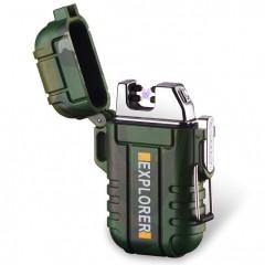 Электронная водонепроницаемая зажигалка Explorer F12