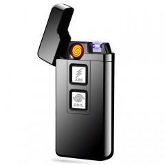 Двойная USB-зажигалка JL-908 (спираль + импульс)