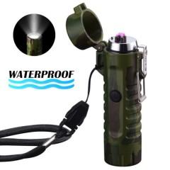 Походная водонепроницаемая зажигалка с фонариком
