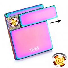 Ультратонкая USB зажигалка-слайдер Tiger TW950