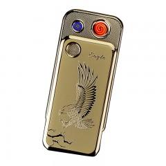 Электронная металлическая беспламенная USB зажигалка K1
