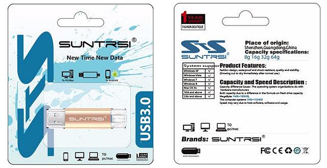 USB 3.0 флэш-диск Suntrsi