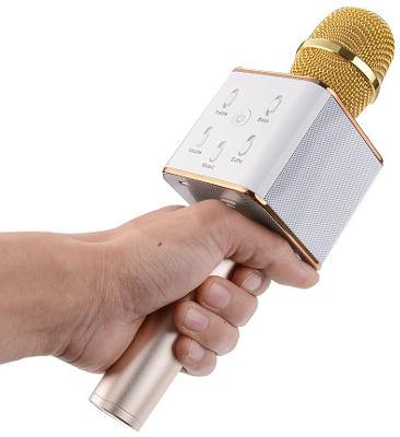 Bluetooth микрофон с караоке Q7