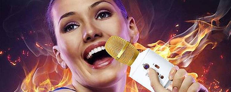 Караоке микрофон Magic Karaoke Q8