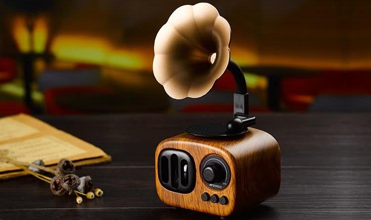 Колонка граммофон AS90