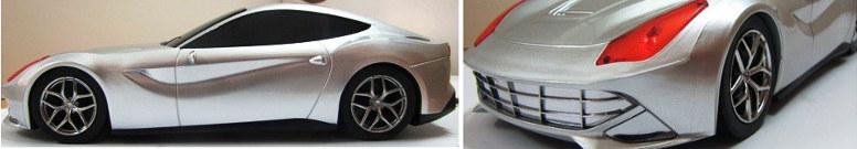 Колонка Ferrari HY-T807 серебристая