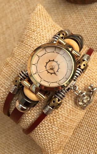 часы-браслет RW007 с кулоном