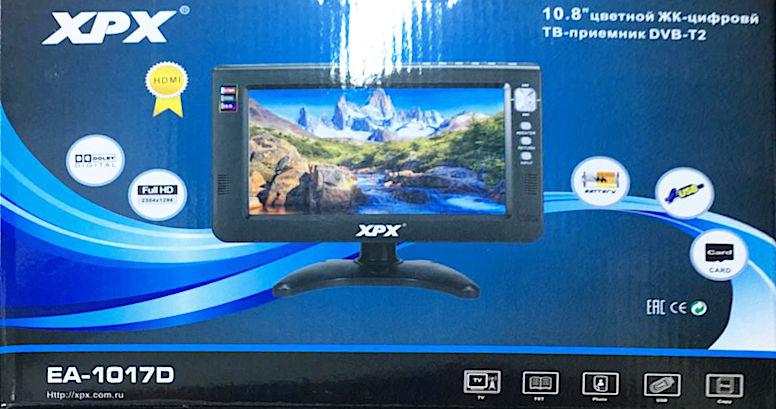Телевизор XPX EA-1017D