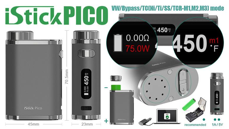 Бокс-мод Eleaf iStick Pico 75W