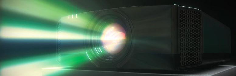 световой поток проектора