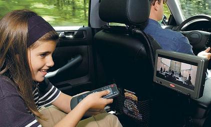 ДВД-плеер в машине