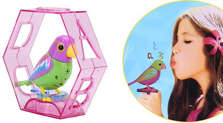 Попугай-игрушка