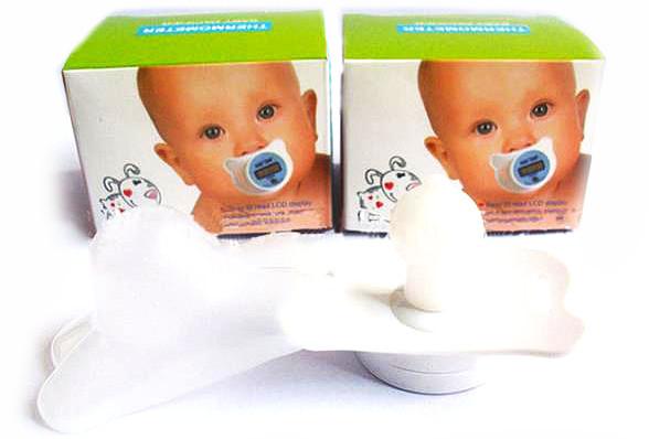 Соска (пустышка) термометр Baby Temp