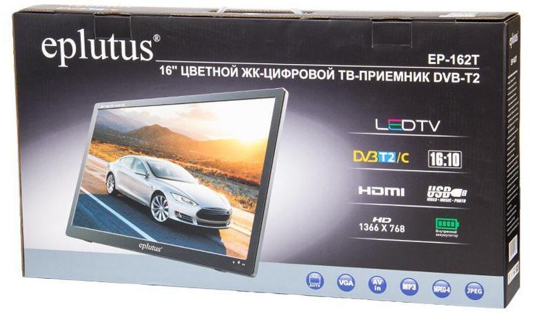 Телевизор с аккумулятором Eplutus EP-162Т