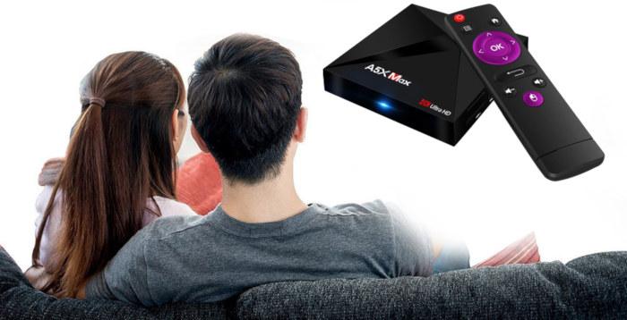 TV смарт-приставка A5X MAX