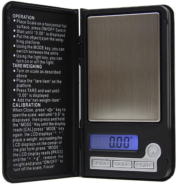 Весы Notebook Mini 8038