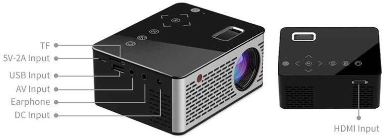 Портативный проектор T200