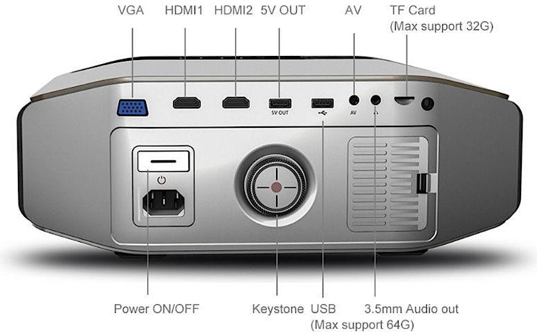 Проектор YG-620