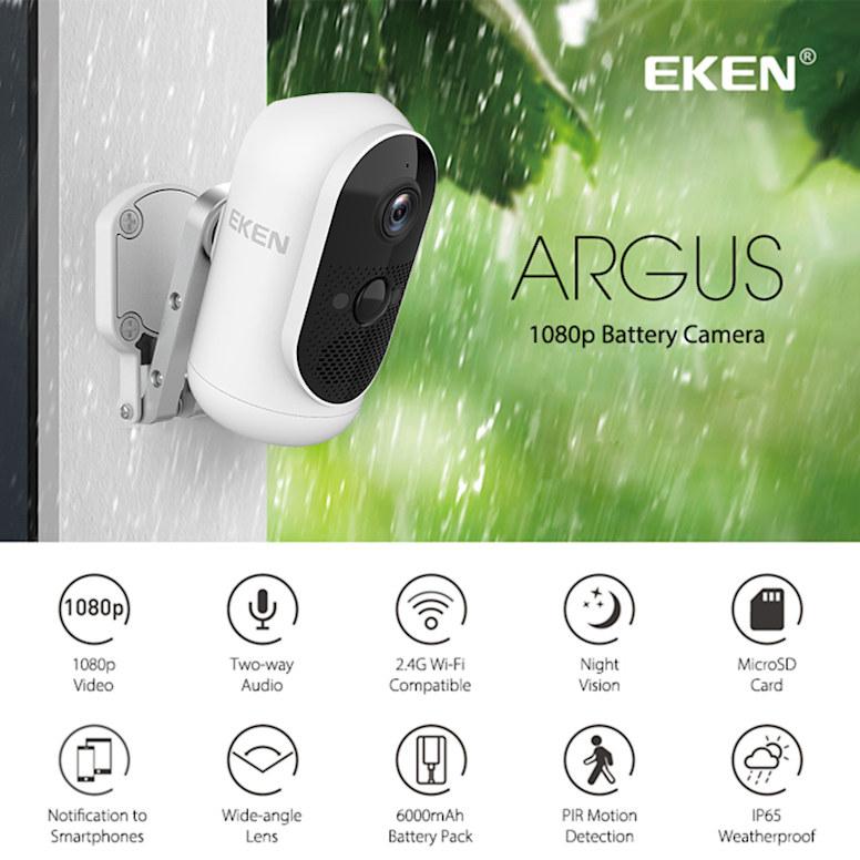 WiFi ip-камера EKEN Argus