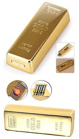 USB зажигалка «Слиток золота»
